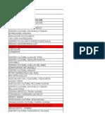 Agenda y Ficha de Calificacion