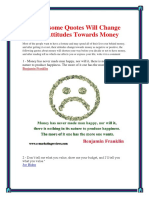 50 Awesome Money Quotes