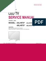 Manual de Servicio TV LG 49LH5700-DJ