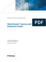 MetroCluster Service and Expansion Guide