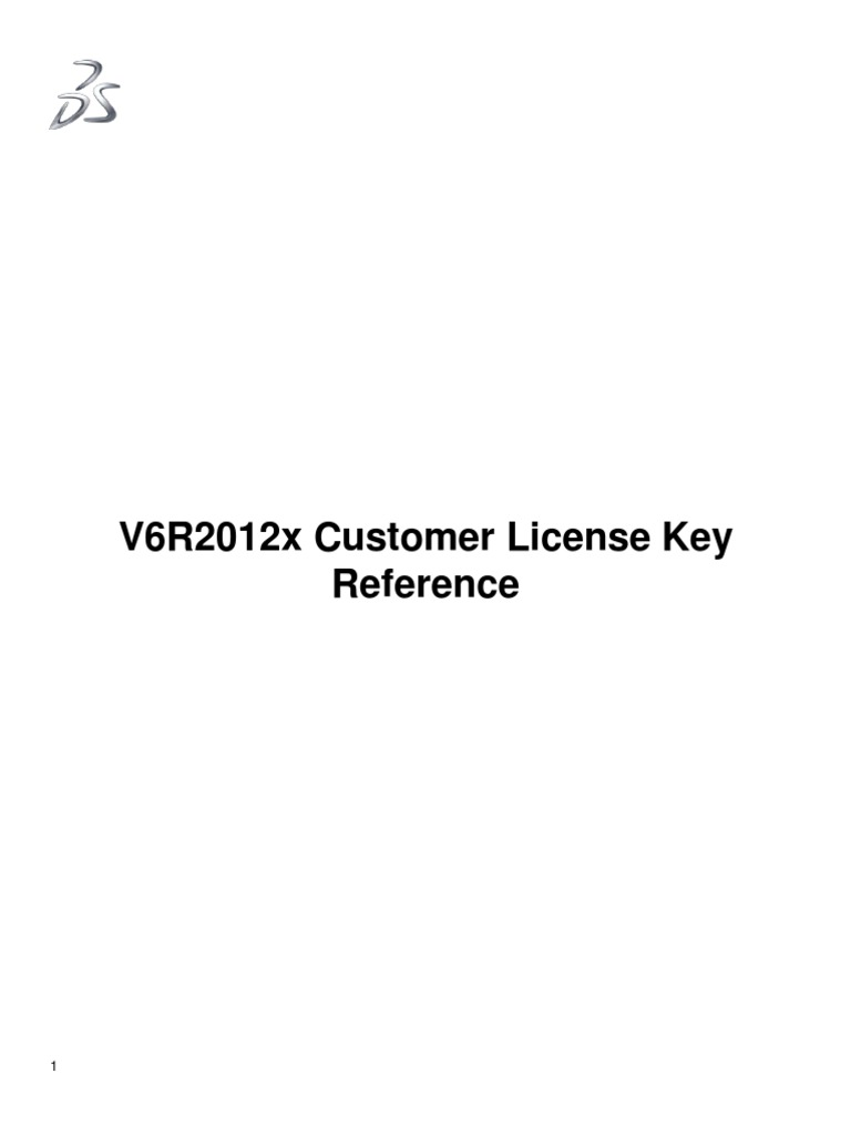 V6R2012x | Server (Computing) | Software