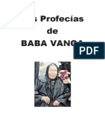 Las Profecías de Baba Vanga
