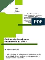 Treinamento de MMN Por Júlio Miranda!!