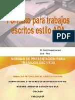 APA Presentación