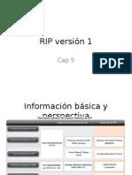 RIP Versión 1_Cap5