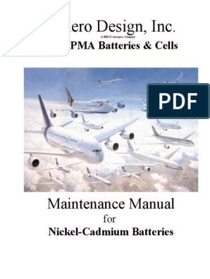 Nic Ad Manual   Battery (Electricity)   Battery Charger