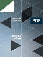 Parametrc Design Lab 2013  (Krystyna Januszkiewicz and  Mateusz Zwierzycki; Course Leaders)