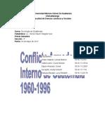 Conflicto Armado Interno