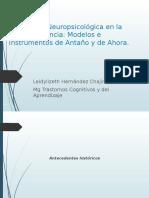 Evaluación Neuropsicológica en La Primera Infancia