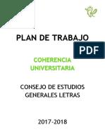 Coherencia Consejo Letras 2017-2018