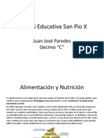 Alimentacion y Nutricion en La Adolesencia