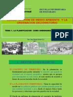 1.- Laplanificacion y El Ordenamiento Territorial