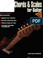 E-book - Chords Scales for Guitar
