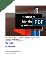 Form 2 Poem