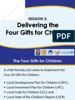 Delivering the Four Gifts for Children