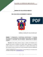 EL GOBIERNO DE COALICIÓN