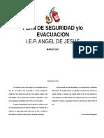 Plan de Seguridad PLANOS DE JARDIN