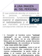 Antropología Filos. Imagen Integral