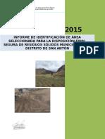 Estudio de Sitio Corregido San Antón