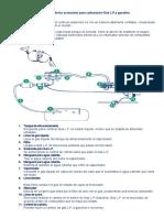 Diagrama de los accesorios para carburación Gas L.docx