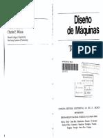 Diseño de Máquinas Teoría y Práctica - A. Deutschman & W. Michels & C. Wilson (1Ed - Ed. Continental) 1987.pdf