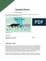 Exploring Quantum Physics