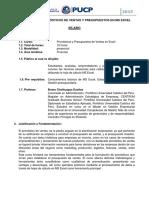 Pronostico Ventas 2015 Silabo