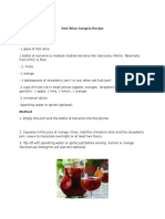 Red Wine Sangria Recipe