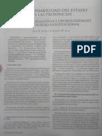 La Ley 2016-F Responsabilidad Del Estado en La Provincias -1