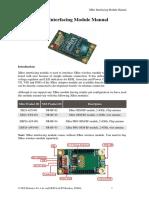 Xbee Interfacing Module Manual