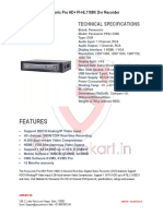 Panasonic-hd -Pl-HL1108K Dvr - Digital Video Recorder-Securekart