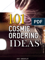 101 Cosmic Ordering Ideas