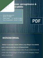 Pseudomonas Aeruginusa & Proteus Mirabilis