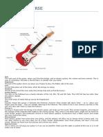 Guitar Beginer's Course