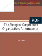 The Shanghai Cooperation Organization an Assessment