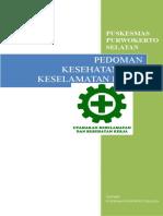 PEDOMAN K3 PUSKESMAS