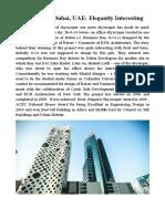 14 Tower Dubai UAE Elegantly Interesting