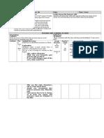 3rd year prac lesson plan for e-portfolio