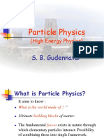 SBG Particle Physics