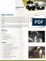 Gunite and Shotcrete Brochure