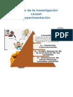 Diseño de La Investigación Causal