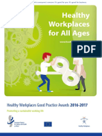 Healthy Workplaces Good Practice Awards 2016 2017 Booklet