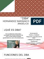 DBA - Database Administrator - Administrador de Base de Datos