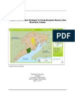 Proposed Conservation Strategies for Fundy Biosphere Reserve, New Brunswick, Canada