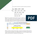 Uso Del Solver en Programacion Lineal (1)