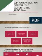 Corruption Eradication in Indonesia