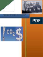 Emision de Bonos de Carbono