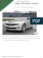 2010 Camaro SS Heads - Super Chevy Magazine