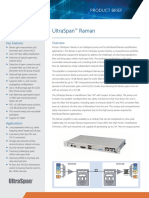Finisar Amplifier Ultraspan 1ru Raman Product Brief