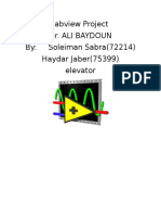 Report of Labview